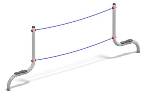 Balanceertoestel FunRun Balanceer-zeilbrug