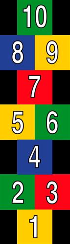 Pleinplakker Hinkelbaan, 60 x 60