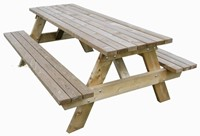 geimpregneerde picknicktafel zwaar model