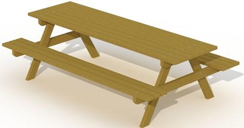 Europlay picknicktafel 2,4 m