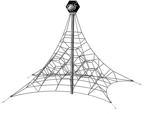 Klimtoestel Spinnen piramide