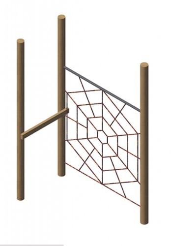 spinneweb, robinia frame