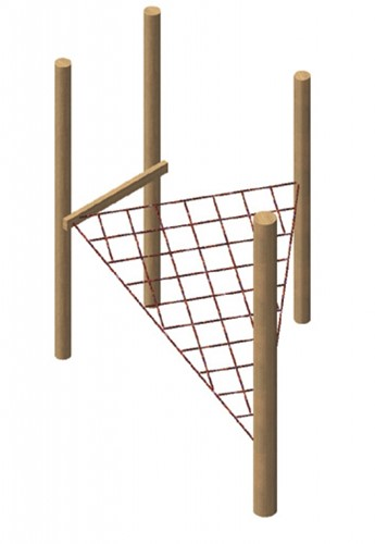 Lignet met robinia frame