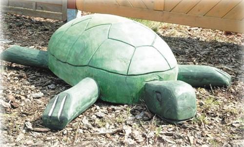 Robinia speelelement Schildpad
