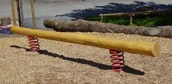 Verende evenwichtsbalk, robinia