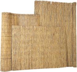 rieten decoratiemat op rol, afm. 180 x 600 cm