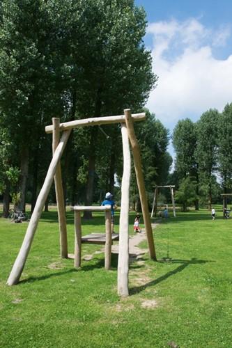 ECO-Play robinia kabelbaan (met 2 platformen)-2