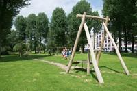 ECO-Play robinia kabelbaan (met 2 platformen)-3
