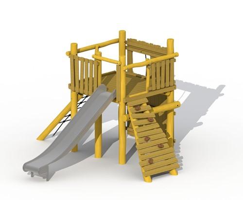 ECO-Play tovertoren, zonder evenwichtsparcours, robinia