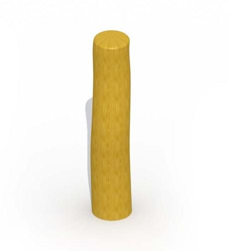 ECO-Play robinia paal, diam. 12 - 14 cm, lengte   80 cm