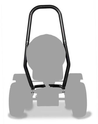 BERG rolbeugel voor Off-road skelters, zwart