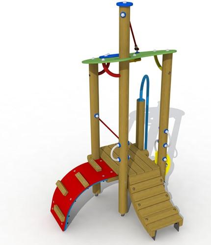 Combinatietoestel Roodkapje - montage in de grond (type A)