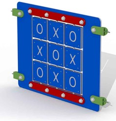 Educatief spelpaneel OXO