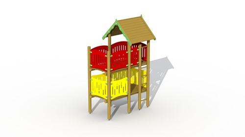 Klimtoestel Jumbo-uitkijktoren