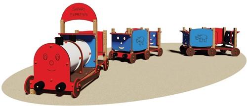 Speeltoestel Trein Safari Express