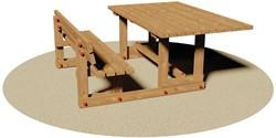 Picknicktafel Archimede