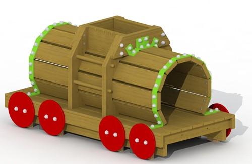 Speelelement Tankwagon (voorgemonteerd) - montage in de grond (type A)
