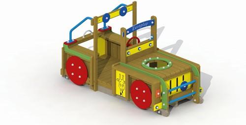 Speelelement Terreinwagen (gemonteerd) - montage in de grond (type A)