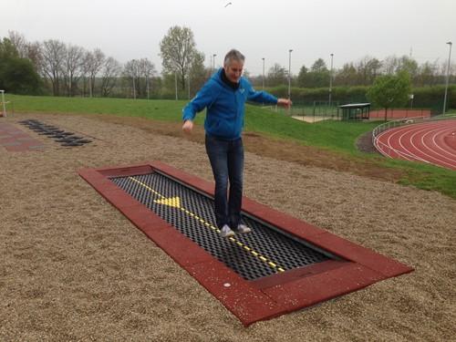 trampoline voor rolstoelgebruik