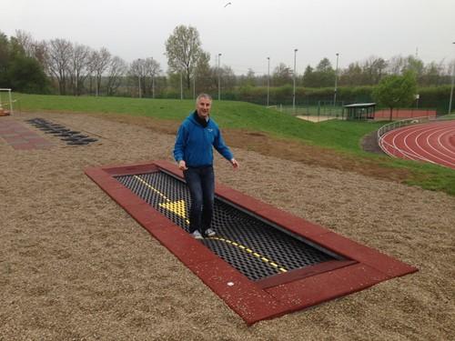 6-meter trampoline (rolstoelgeschikt)
