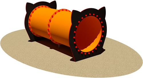Tunnel voor honden Dritto