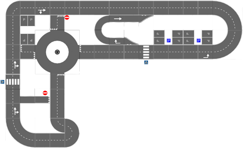 Pleinplakker Verkeersplein 3