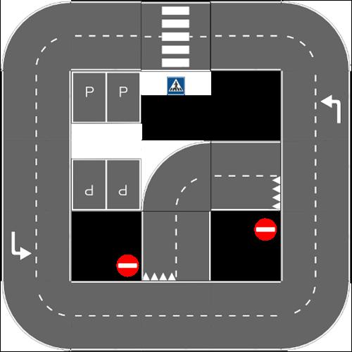 Pleinplakker Verkeersplein 4