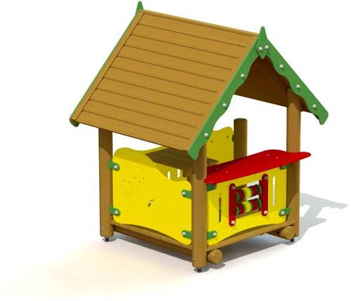 Speelhuis Winkeltje - montage in de grond (type A)